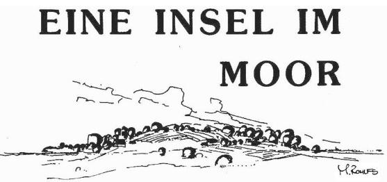 Eine Insel im Moor
