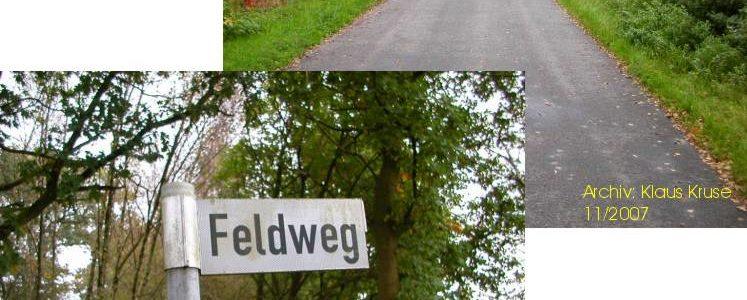 Feldweg